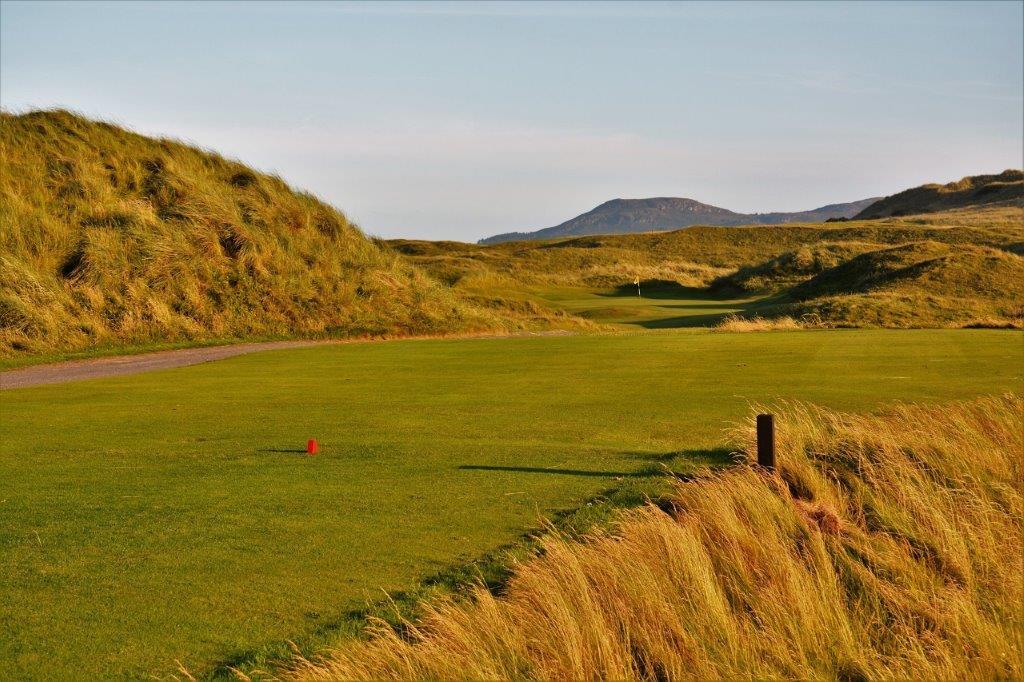 Départ sur le golf de Strandhill en Irlande