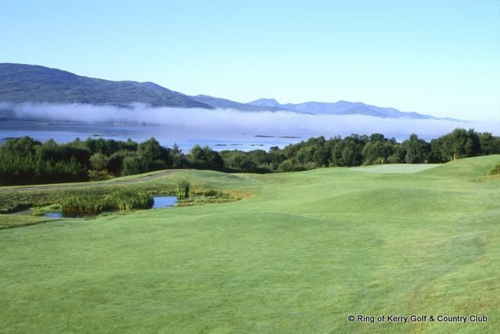 Fairway sur le parcours de Ring of Kerry