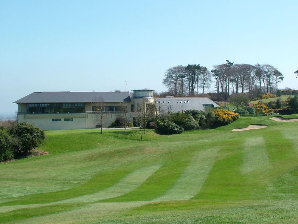 Clubhouse du parcours Dufferin au club de Clandeboye en Irlande du Nord
