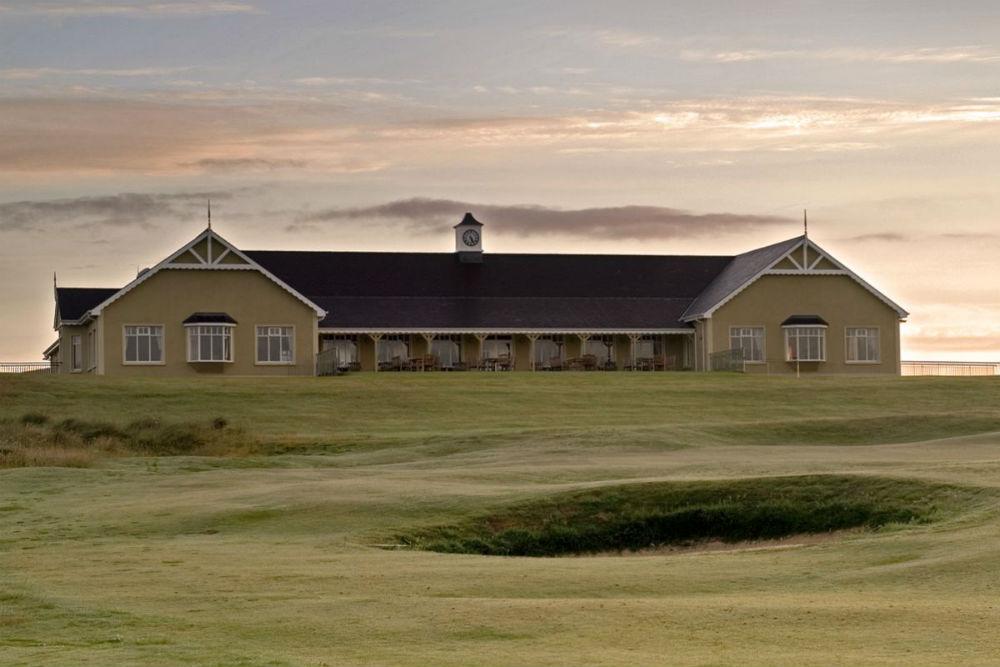 Clubhouse au golf de Rosapenna en Irlande