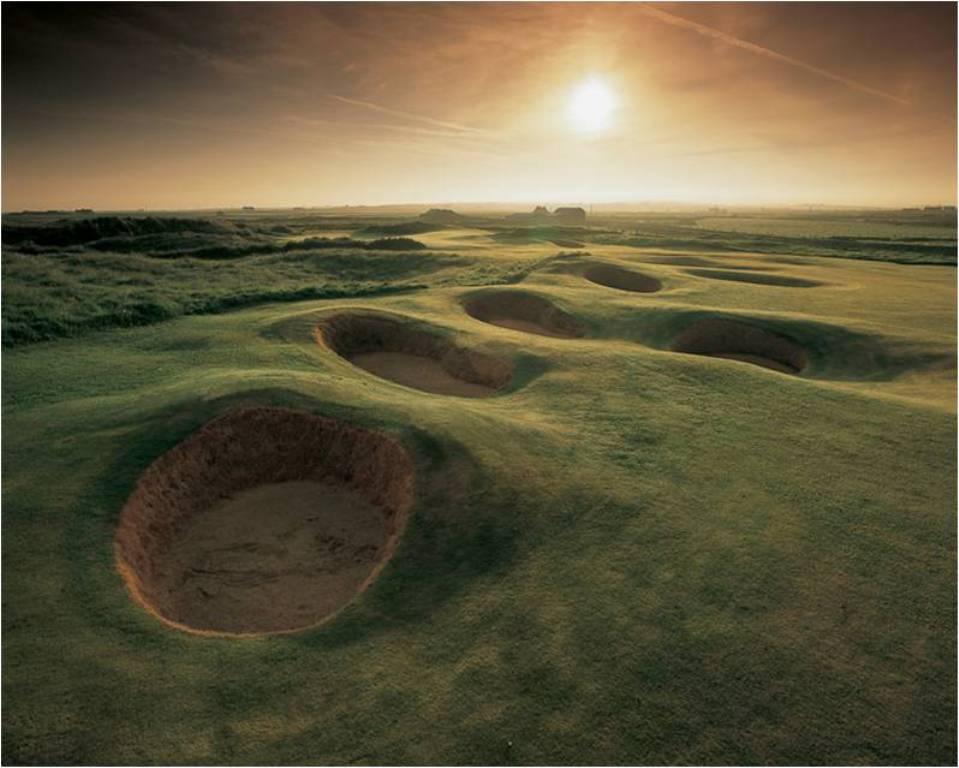 Bunkers sur le parcours de Doonbeg