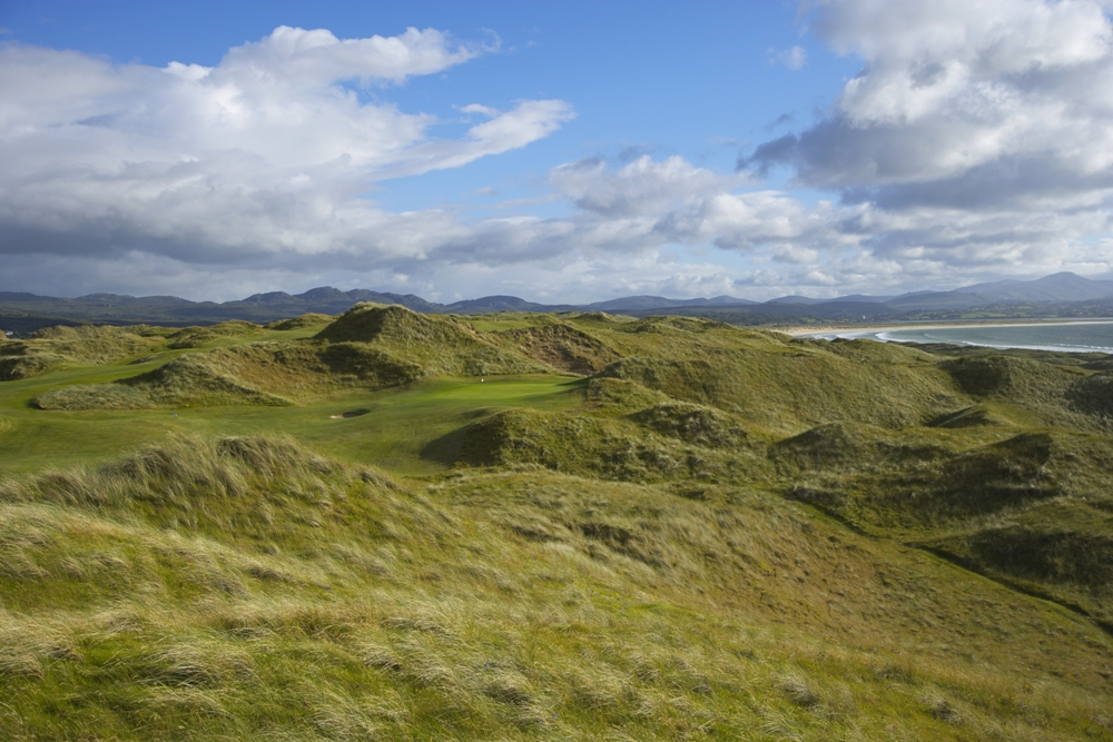 Green et dunes sur le parcours de Rosapenna