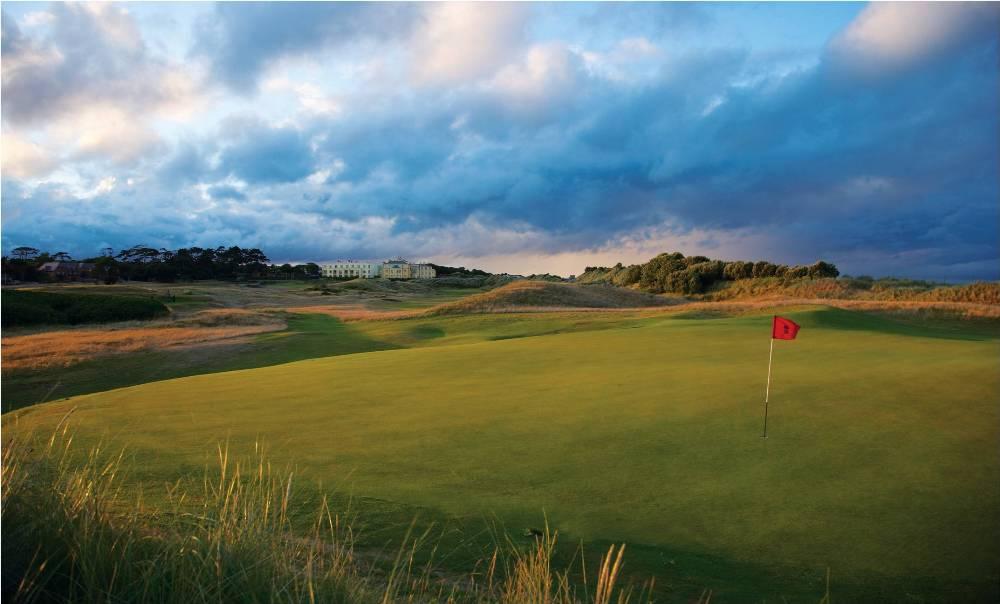 Green et hotel sur le parcours de Portmarnock Links