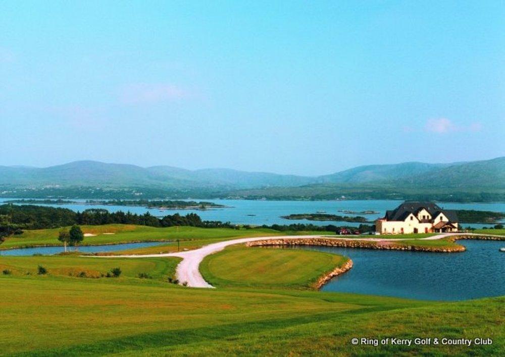 Clubhouse sur le parcours de Ring of Kerry