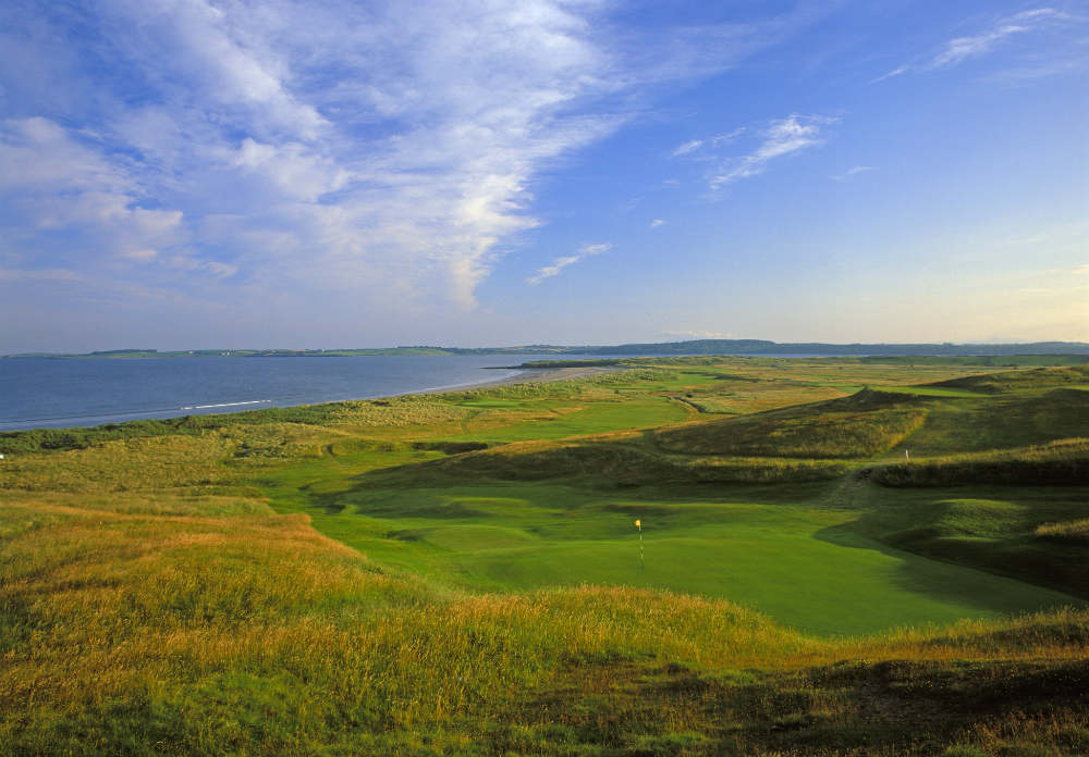 Trou n°17 du golf de County Sligo en Irlande