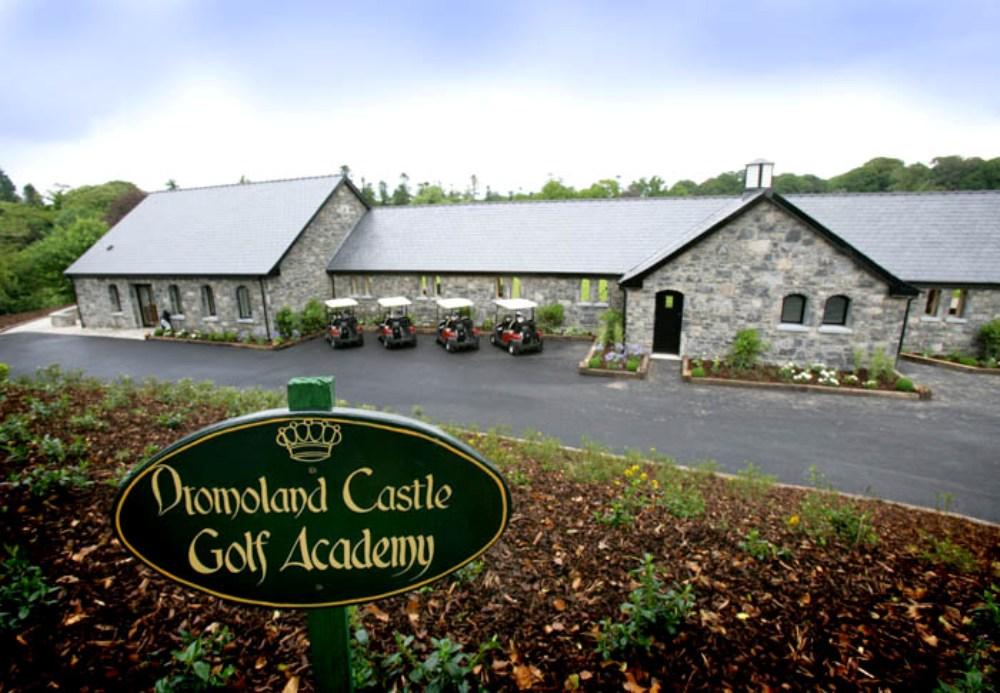 Clubhouse sur le parcours de Dromoland Castle
