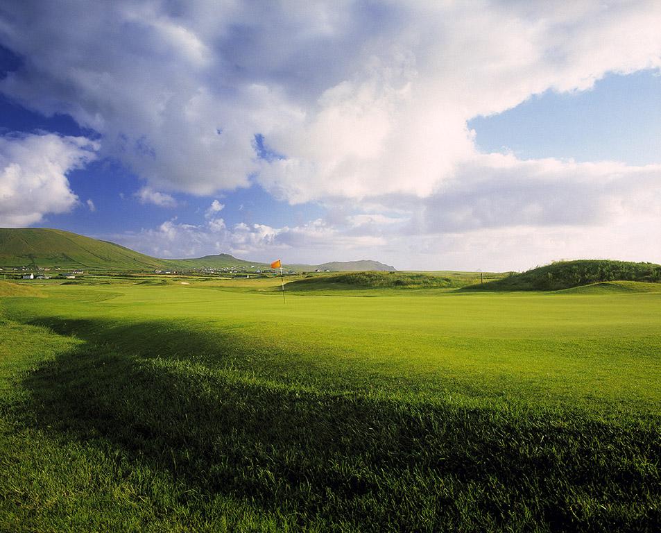 Green en longueur sur le parcours de Dingle