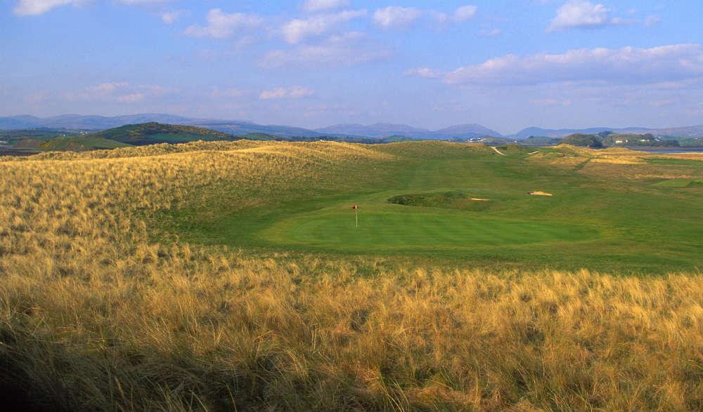 Parcours de golf de Donegal en Irlande