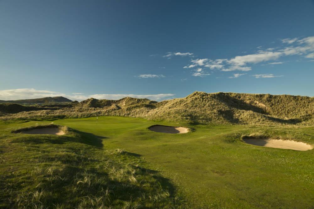 Golf de Old Tom Morris à Rosapenna en Irlande