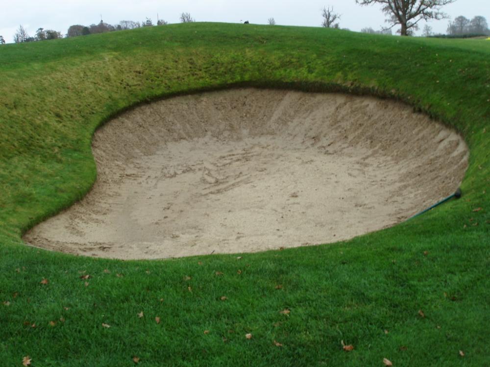 Bunker sur le parcours de Carton House (Montgomerie)