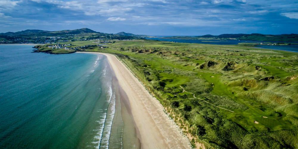 Les parcours de golf de Rosapenna en Irlande
