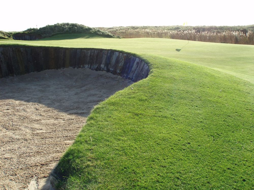 Bunker sur le parcours de The European Club
