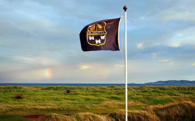 drapeau du golf de St Anne`s