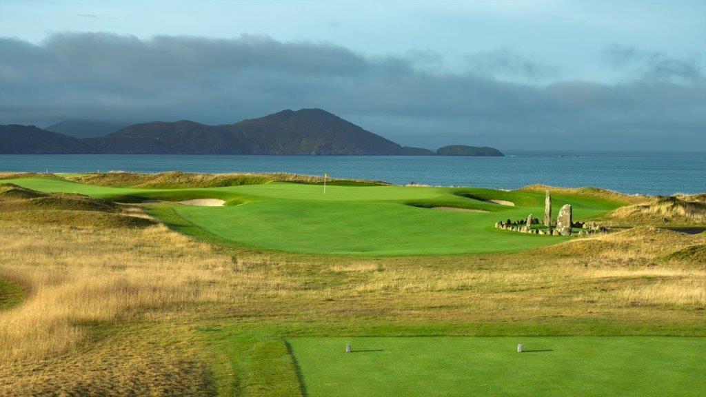 Par 3 du parcours de golf de Hogs Head en Irlande