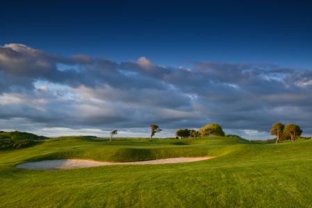 Large bunker sur le parcours de Galway Bay