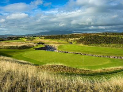 Green sur le parcours de golf de Hogs Head en Irlande