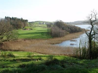 Vue sur le parcours de Lough Erne