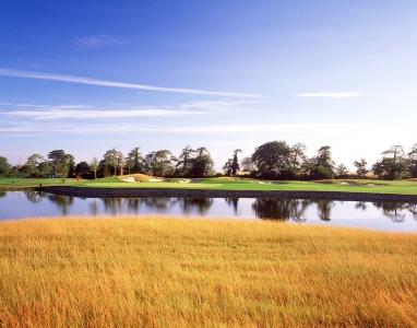 Lac sur le parcours Heritage