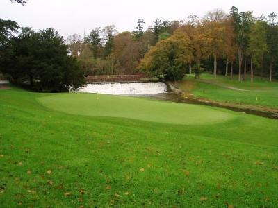 Green et barrage sur le parcours de Carton House (O'Meara)