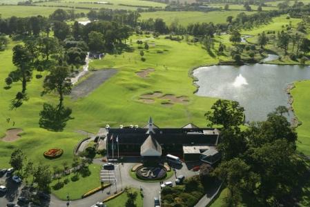 Clubhouse du K Club pour le golf en Irlande