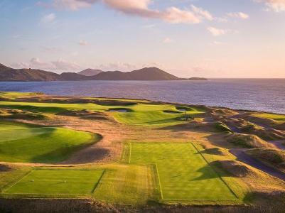 Mer et montagne sur le parcours de golf de Hogs Head en Irlande