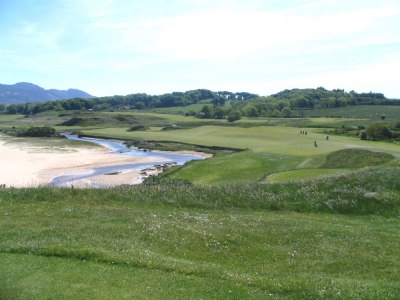 Golf de Portsalon en Irlande