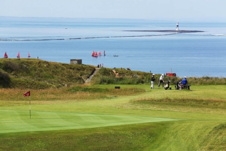 Golf de County Sligo en Irlande