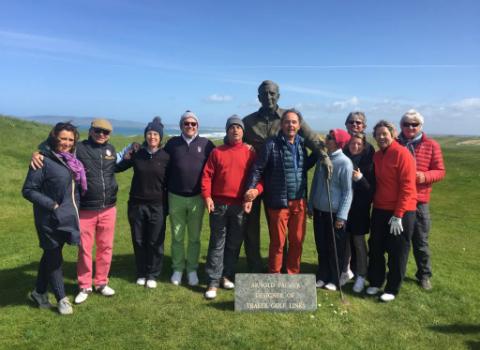 golf irlande taquet